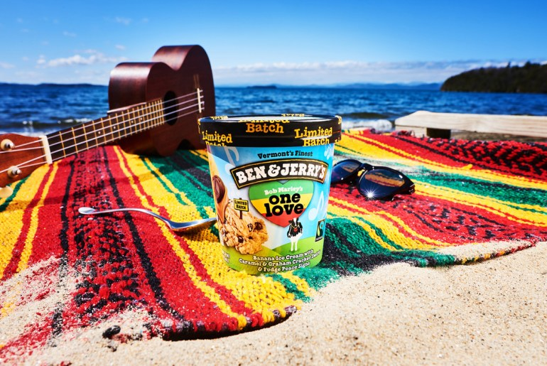 """Ben & Jerry's Shows Love For Bob Marley With """"One Love"""" by Everybody Craves"""