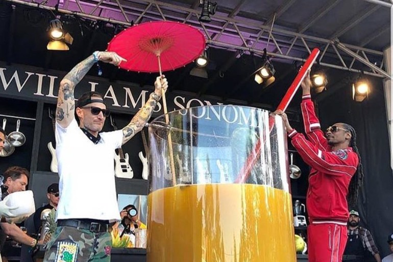 Snoop Dogg now holds World Record for largest Gin & Juice