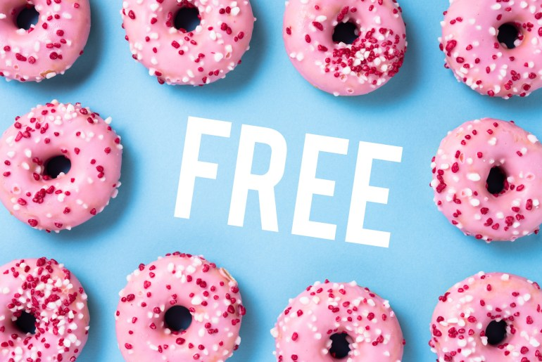 Where to find free donuts on national donut day by Everybody Craves