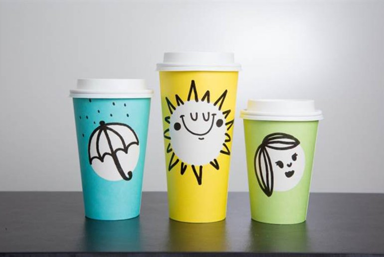New starbucks cups are dressed for spring by Everybody Craves