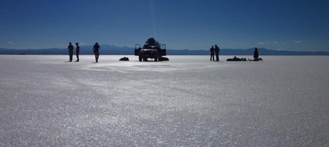 Salt Flats of Salar De Uyuni, Bolovia