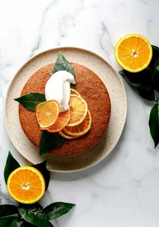 Tangerine and Olive Oil Cake