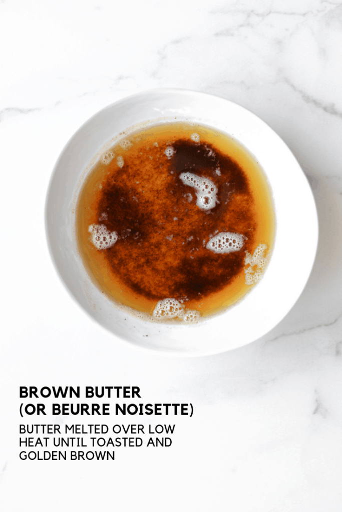 process photograph: brown butter