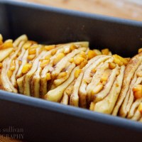 Peach, Cinnamon & Brown Butter Pull-Apart Bread