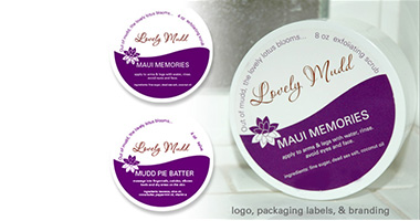 Lovely Mudd Packaging Design and Label Printing