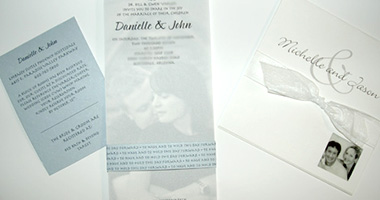 Wedding Invitations and Print