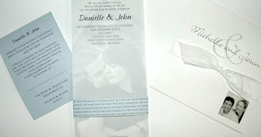 Wedding Invitations and Print
