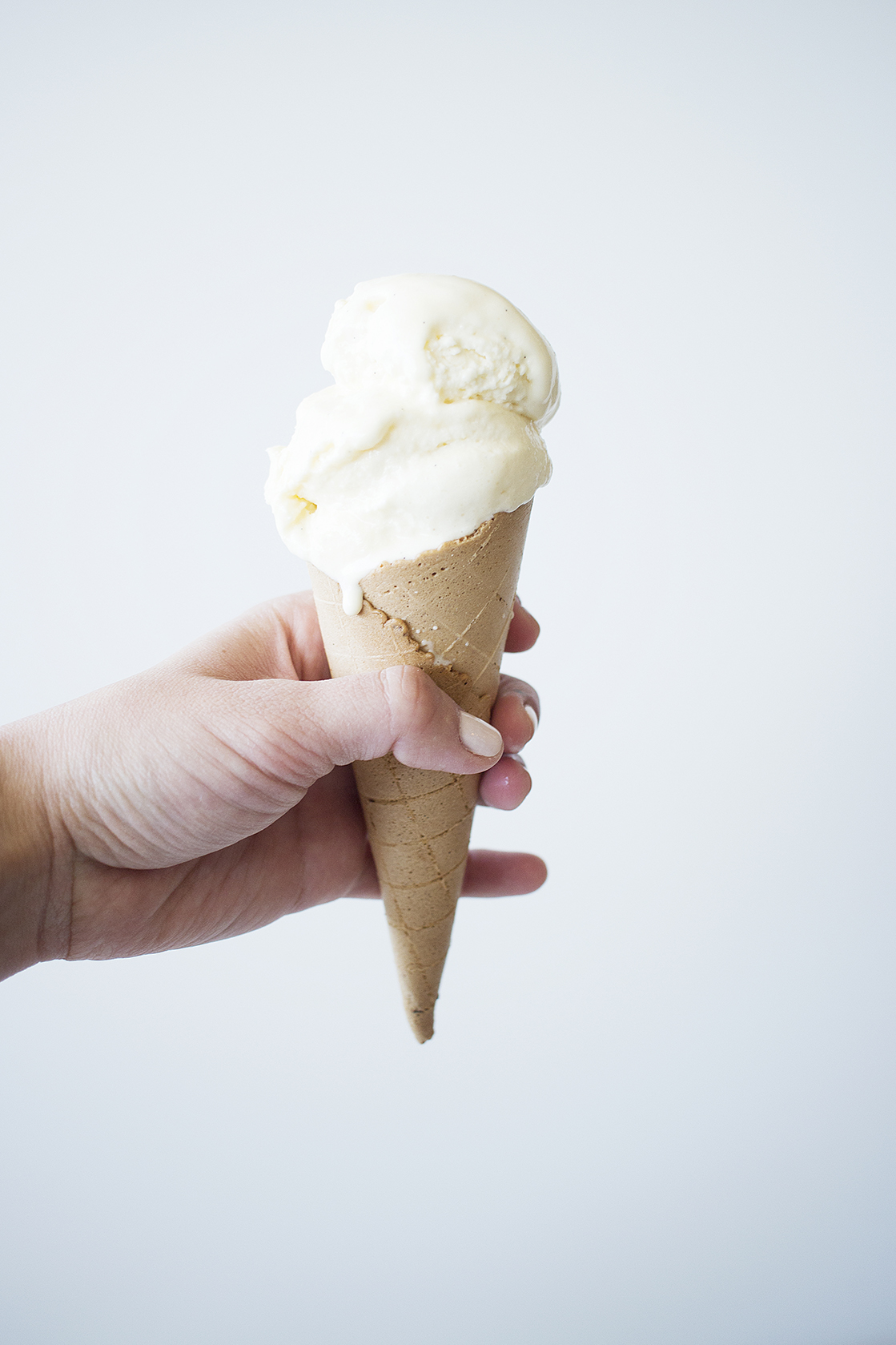 Vanilla Bean Ice Cream (No Ice Cream Machine)