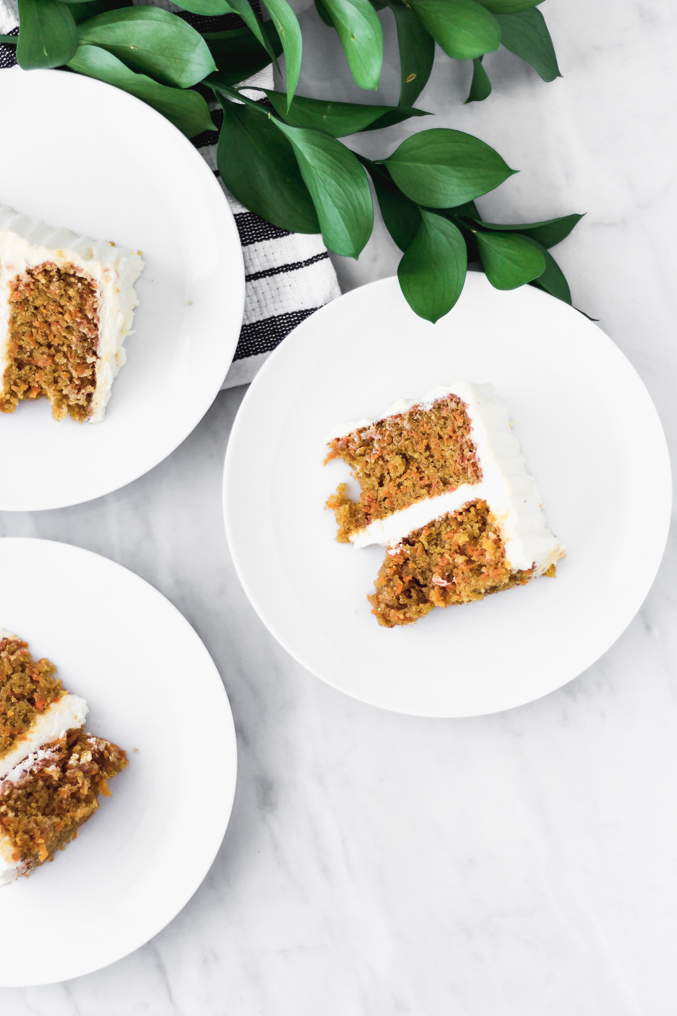 The Perfect Carrot Cake with Cream Cheese Frosting