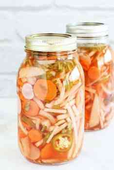 Pickled Vegetables Mexican Style|Craving Something Healthy