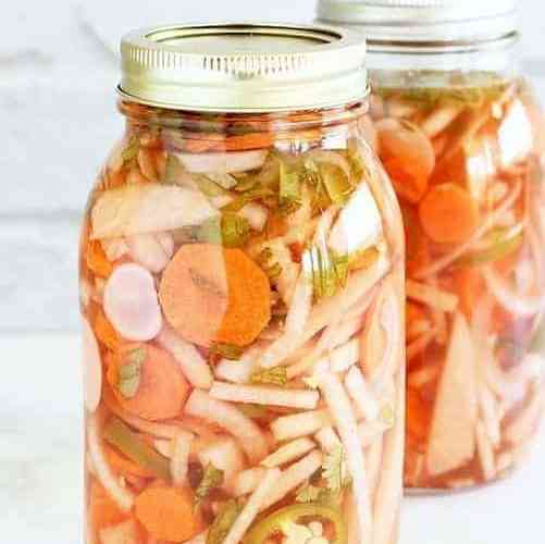 Mexican-Style Pickled Vegetables