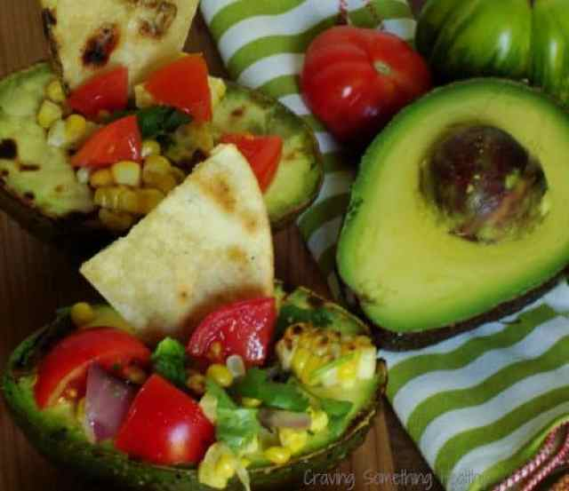 Grilled Stuffed Avocado Salads Craving Something Healthy