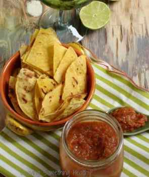 Roasted Tomato Salsa|Craving Something Healthy