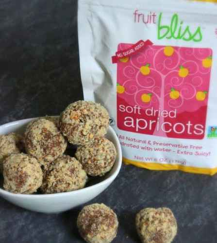 Apricot Almond Truffles |Craving Something Healthy
