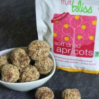 Fruit Bliss Apricot Almond Truffles