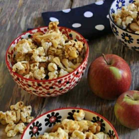 Caramel Apple Corn|Craving Something Healthy