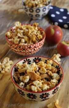 Caramel Apple Corn|Craving Something Healthy