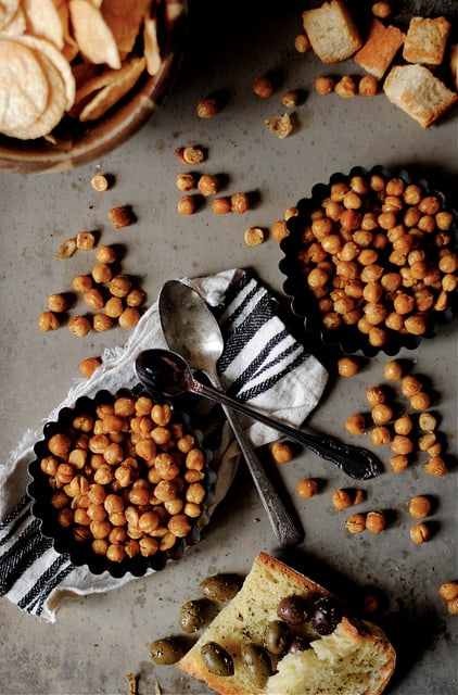 Spicy Oven Roasted Chickpeas|How to Simplify