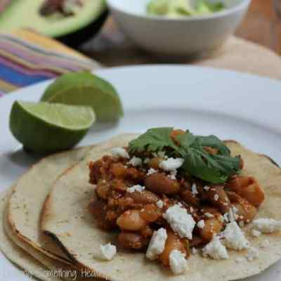 Frijoles Rancheros {Meatless Monday}