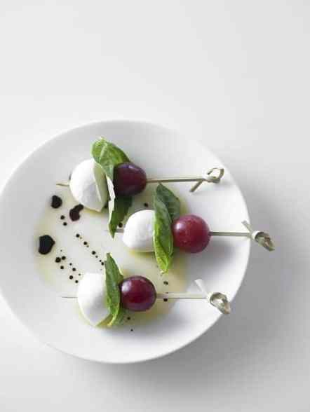 Grape Caprese|Grapes from California