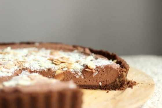 Chocolate Mint Mousse Pie Vintage Kitchen Notes