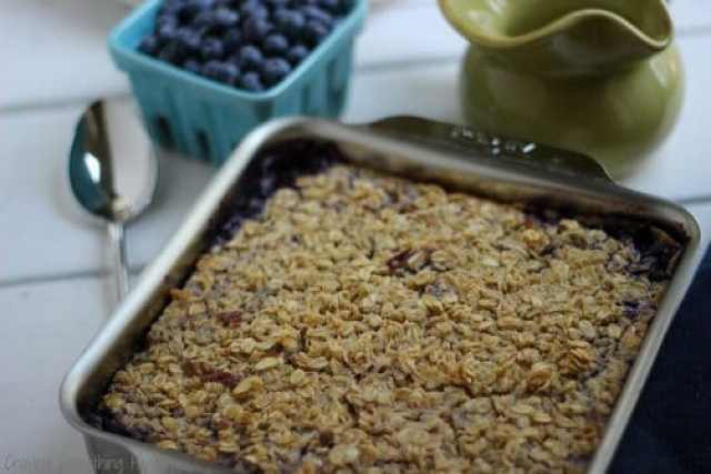 WIld Blueberry Cheesecake Oats|Craving Something Healthy