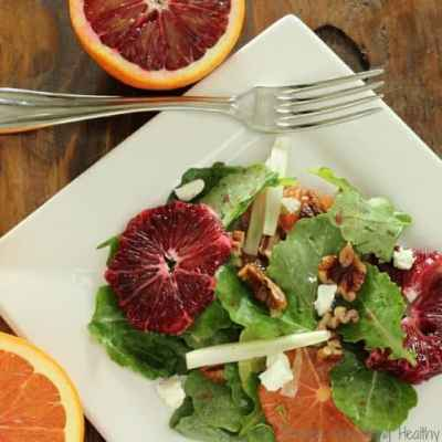 Kale Blood Orange and Fennel Salad