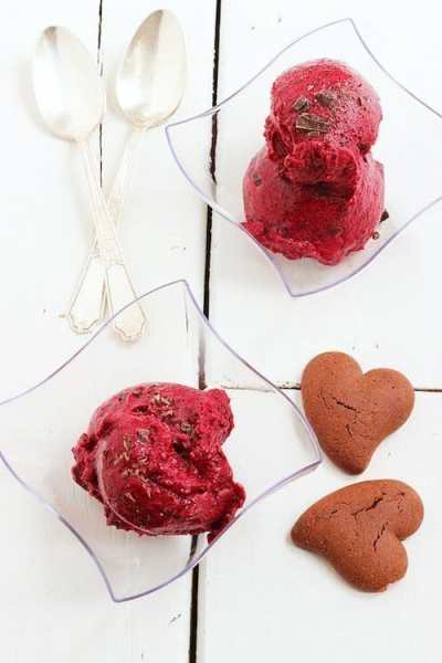 Merlot Berry and Dark Chocolate Sorbet
