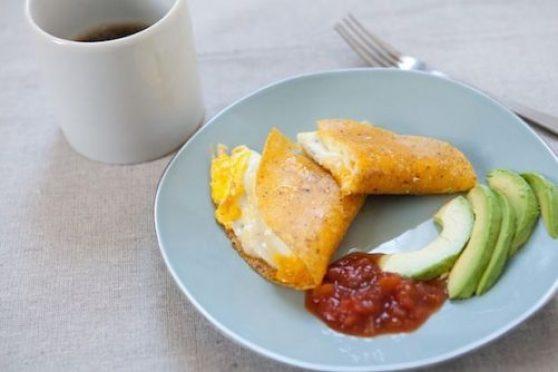Super Simple Single Serving Breakfast Quesadilla|Food 52