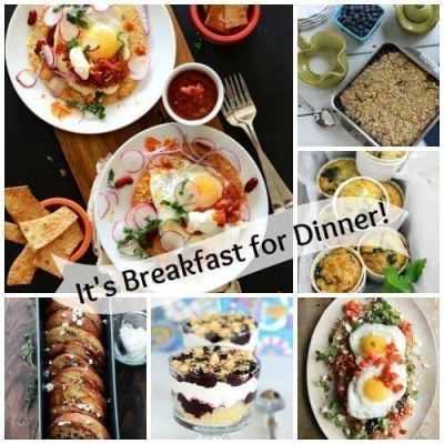 Breakfast for Dinner {Meatless Monday}