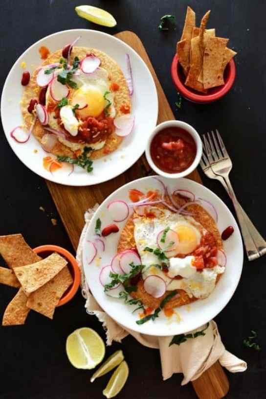 Gluten Free Breakfast Tostatas|Minimalist Baker