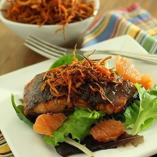 Sweet Chipotle Grilled Salmon