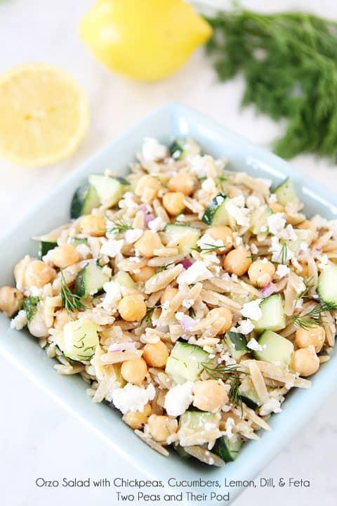Orzo Salad Two Peas and Their Pod
