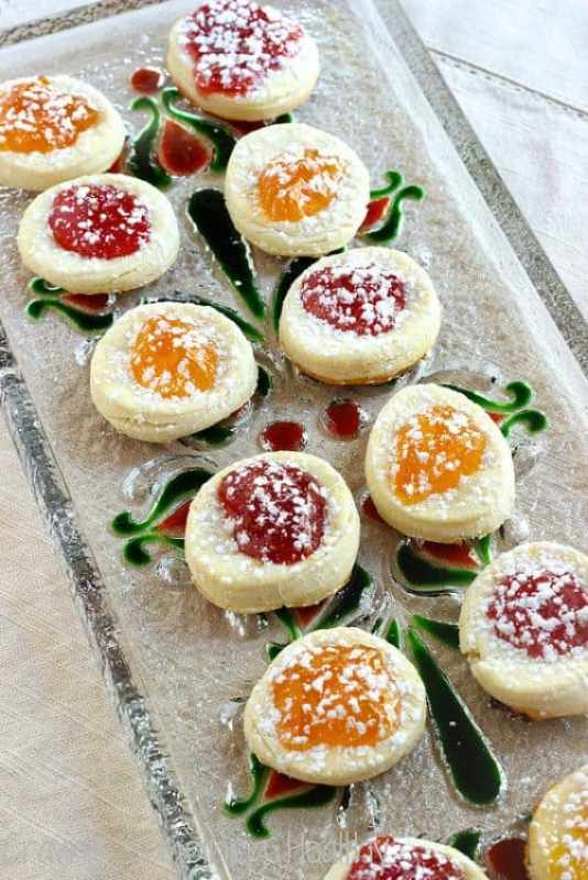 Polish Kolachki Cookies|Craving Something Healthy