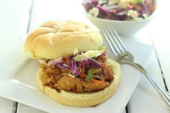 Cranberry-Asian BBQ Chicken Sandwiches|Craving Something Healthy