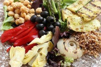 Grilled Mediterranean Vegetable Salad|Craving Something Healthy