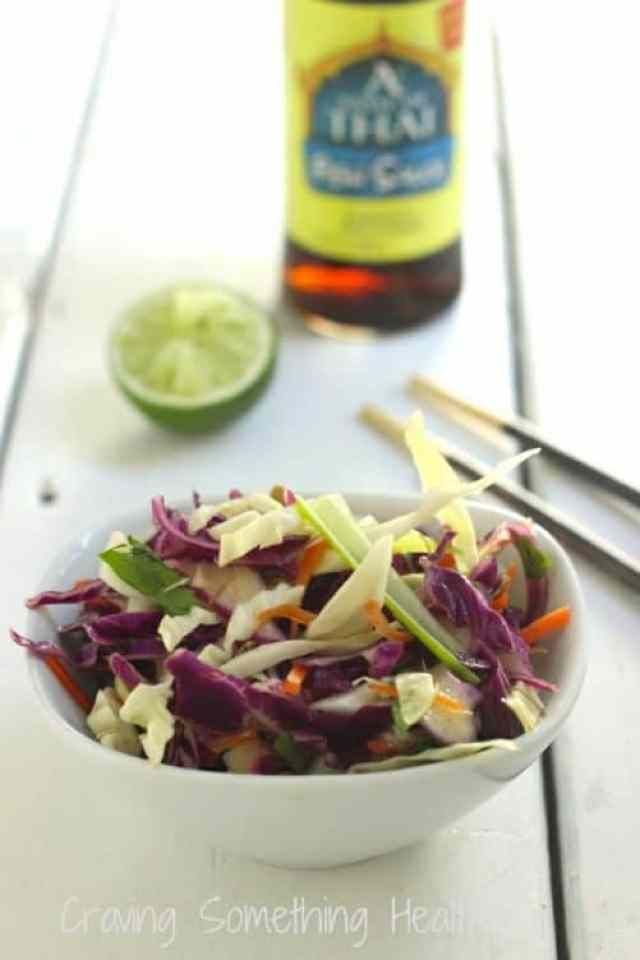 Asian Sesame Slaw|Craving Something Healthy