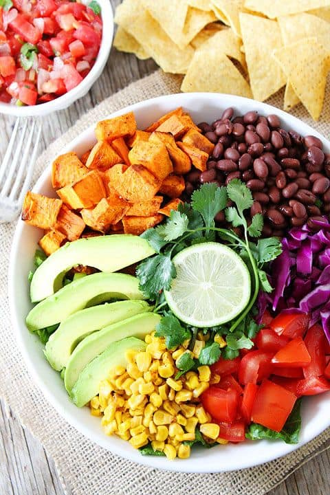 Sweet Potato and Black Bean Mexican Salad Two Peas and Their Pod