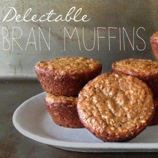 High Fiber Seeded Bran Muffins