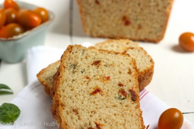 Sun Dried Tomato and Parmesan Quick Bread|Craving Something Healthy