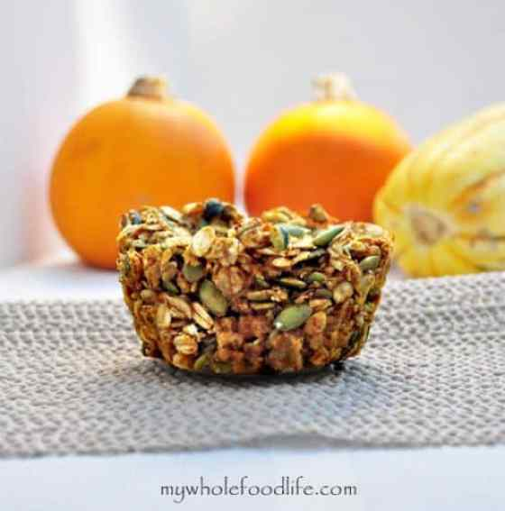 Pumpkin Pie Baked Oatmeal|My Whole Food Life