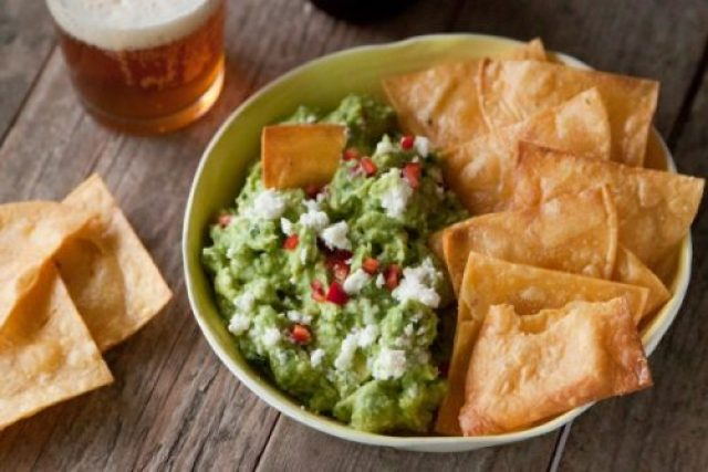 Spicy Queso Fresco Guacamole|What's Gaby Cooking