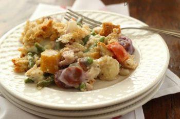 Mixed Vegetables Mornay {Recipe ReDux}
