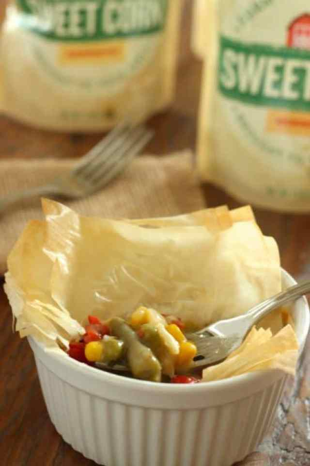 Individual Herbed Vegetable Pot Pies|Craving Something Healthy