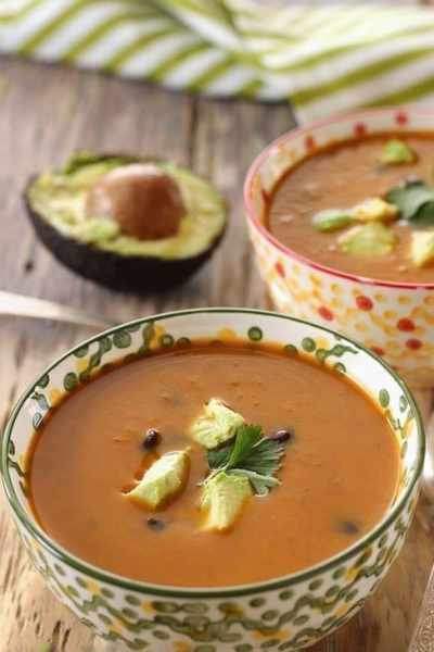 Chipotle Sweet Potato Black Bean Soup