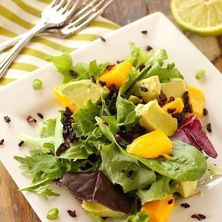 Mango, Avocado and Forbidden Rice Salad {Meatless Monday}