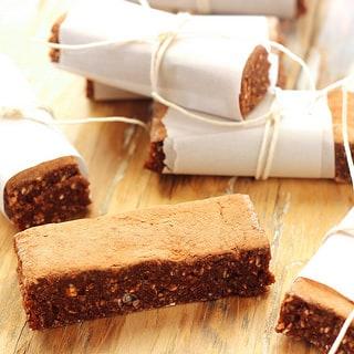 Vegan German Chocolate Energy Bars