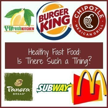 Does This Healthy Fast Food Make Me Look Fat?