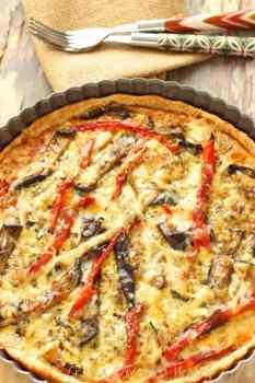 Grilled Vegetable Tart|Craving Something Healthy