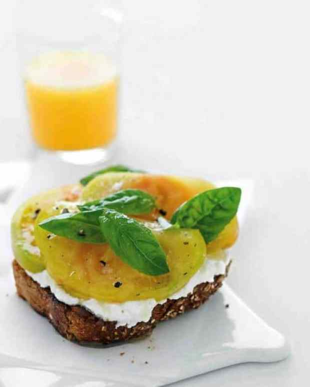 Ricotta Tomato Toast Martha Stewart
